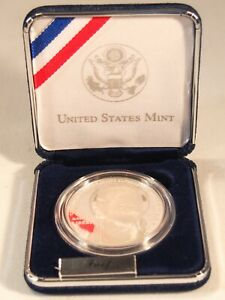 2005 P Supreme Court Justice John Marshall 90% Silver Dollar Proof Coin box COA
