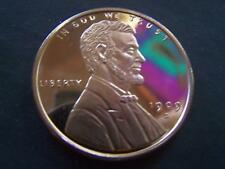 1999 S LINCOLN PENNY 1 TROY OZ. COPPER MEDALLION