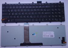 TASTIERA Clevo p150em p170em p370em p570wm p570 p370 retroilluminazione illuminato Keyboard
