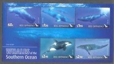 Ross Dependency-Whales min sheet -mnh