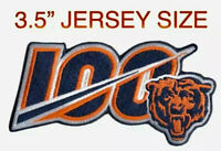 🏈NEW 2019 CHICAGO BEARS 100th Anniversary Iron-on NFL Football Jersey PATCH 100