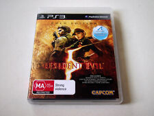 Resident Evil 5 Gold Edition PS3 Game | PlayStation 3 CAPCOM Biohazard | NEW