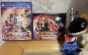 THE METRONOMICON SLAY THE DANCE FLOOR + collectors edition CD Soundtrack PS4 PS5