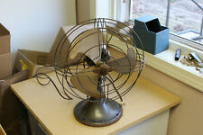 "Very Nice Vintage General Electric 10"" Table Fan -2 Speed Oscillating"