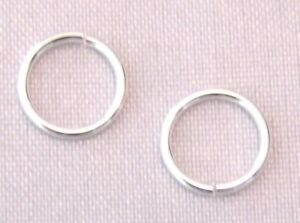 6mm 925 STERLING SILVER OPEN JUMP RING FOR JEWELLERY MAKING QUALITY SILVER 9-4