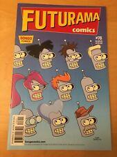 FUTURAMA 78, NM+ (9.6 - 9.8) 1ST PRINT, BONGO COMICS, CGC WORTHY