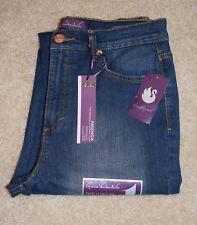 New Gloria Vanderbilt 6 Capri Jeans Amanda Heritage Fit Classic Rise Stretch