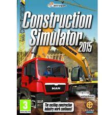 Construction Simulator 2015 (PC/MAC DVD) NEW