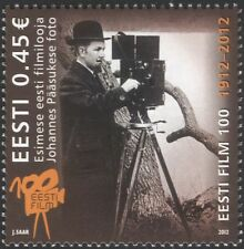 Estonia 2012 J Paasukse/Cinema/Film/Movies/Acting/History/Films 1v (ee1052)