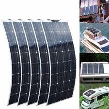 400 Watt Solar Panel Cell Flexible Home Camping Car Yacht 12v 24v Monocrystallin