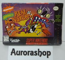 SNES Super Nintendo Spiel Aaahh!!! Real Monsters / US-Version / neu+ovp in Folie