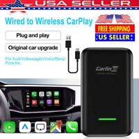 Wireless Carlinkit V2.0 Bluetooth USB Activator With OEM Wired CarPlay US Stock