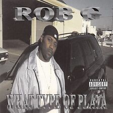 ROB G What Type of Playa CD 2001 Single RARE OG Bay Area G-FUNK Cali West Coast