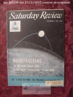 Saturday Review September 1 1956 ARCHIBALD MACLEISH MOONTRACKING