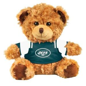 New York Jets NFL Seated T-Shirt Tan Plush Teddy Bear - New With Tags