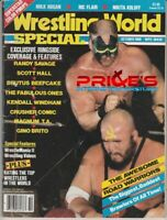 Wrestling World Magazine October 1986 Road Warriors Randy Savage Hulk Hogan WWF