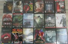 18x Halloween Horror Film DVDs Hills Have Eyes Black Xmas Devil Sorority House