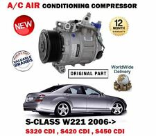 Per MERCEDES Classe S 320 420 450 CDI 2006 > AC Compressore d'aria 0022308211 22308211