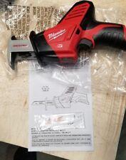 Brand NEW Milwaukee  M12 - 2420-20 Cordless Hackzall  Tool Only