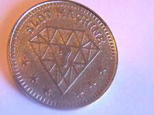 CASINO SLOT MACHINE TOKEN 7 DIAMOND
