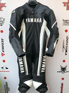 Dainese M1 yamaha 1 piece race suit with hump uk 42 euro 52