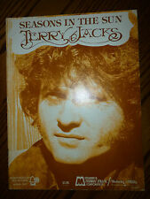 TERRY JACKS Songbook SEASONS IN THE SUN PVG Sheet Music 9 songs 40 pgs