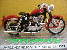 MOTO  1/24 HARLEY DAVIDSON XL SPORTSTER 1957