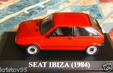 SEAT IBIZA 1984 GLX 1.5 L SPANIA IXO ALTAYA 1/43 ROUGE