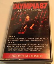 DANIEL LAVOIE Tape Cassette OLYMPIA 87 ~ 1987 Trafic Records Canada OTFT 8726