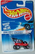 Hot Wheels 1996 First Editions 9 of 12 Radio Flyer Wagon #374 NO Name on Base