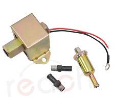 Universal Electric Fuel Pump Metal Solid liquid or Petro 4-6 PSI EP014 12V