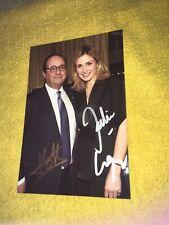 Photo Rare Dedicace Autograph Julie Gayet Francois Hollande President France