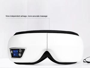 Portable Electric Eye Massager Vibration Heat Wireless Rechargeable Foldable UK