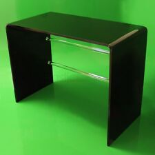 Black Acrylic Plastic Table, Desk, Dressing Table Quality Made In The UK