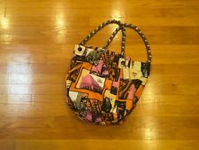 Coach Large Bonnie Cashin Chain Tote excellent condition.