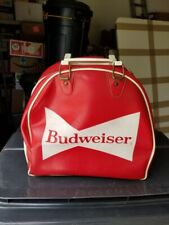 New listing Ultra Rare Authentic Vintage Budweiser King of Beer Bowling Ball Bag w/ Handle!