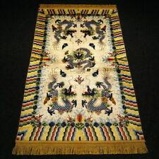 Orient Teppich China 152 x 92 cm Ningxia Seide Drachen Chinese Silk Dragon Rug