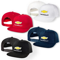 Chevrolet 5 Panel Baseball Cap Embroidered Auto Snapback Mens Womens Hip Hop Hat