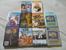 SEALED BOXED DVD LOT SIMPSONS KING OF QUEENS MARRIED WITH CHILDREN THE SHIELD