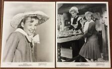 "Two Hayley Mills Photograph 1960 ""Pollyanna"" Disney"