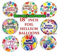 "18"" INCH LARGE Foil Balloons Happy Birthday party baloons elsa anna new  Ballons"