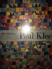PAUL KLEE BY WILL GROHMANN *FIRST ED*