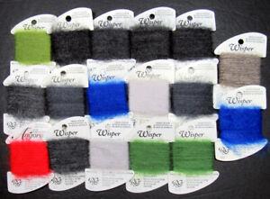 17xNeedlepoint/Embroidery THREAD R GALLERY Wisper furry mohair/nylon+Angora-NJ40