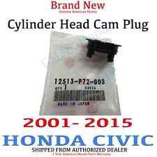 2001- 2015 Honda CIVIC Genuine OEM Engine Cylinder Head Cam Plug (12513-P72-003)