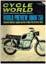 CYCLE WORLD SEPTEMBER 1969 SEE CONTENTS PAGE IN SECOND PHOTO