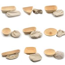 Bread Rattan Basket Banneton Bortform Oval Long Dough Proofing Handmade Multi