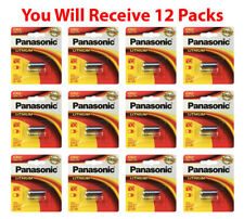 12x Panasonic CR-2 Lithium Battery CR2 CR-2PA 3V Fresh Photo Batteries