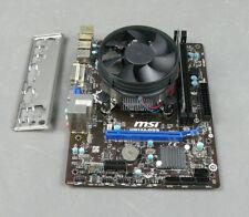 Placa base motherboard MSI h81m-p33 tan. 1150 USB 3.0 incl. CPU 3,2ghz 4gb RAM
