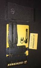 Leatherman Wave Military Black Multi Tool W/Molle Sheath + Bit Kit + Pocket Clip