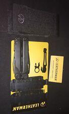 Leatherman Wave Military Black Multi Tool W/Molle Sheath + Bit Kit + Pocket Clip